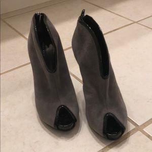Marc By Marc Jacobs Suede Heel Bootie Sandals
